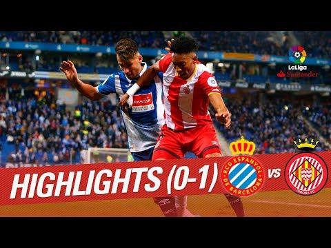 Resumen de RCD Espanyol vs Girona FC (0-1)
