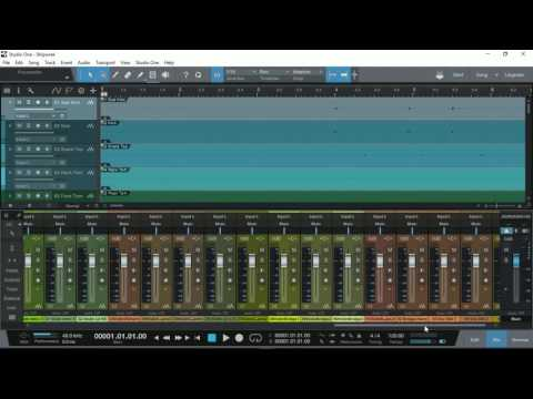 How To: Import & Export Audio Stem Files with PreSonus Studio One Prime
