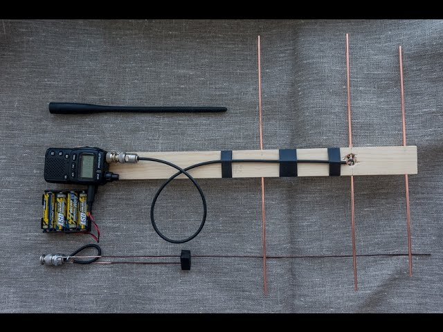 Тест антенн: yaesu ft-817, j, 3 эл. yagi - 433 мгц - приколы.