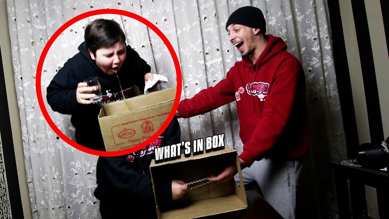 რომელმა ძმამ აღებინა?! | რა დევს ყუთში *CHALLANGE*