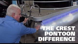 the crest pontoon difference