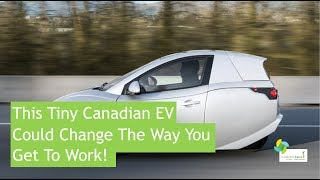 This Tiny Candadian Ev Could Change The Way You Get To Work!