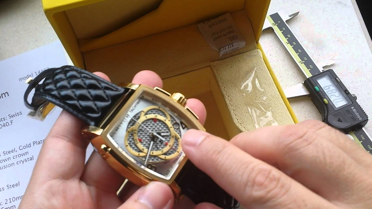 fc40bf92164 Relógio Invicta s1 touring ref 5662 Suiço Cronografo é na Altarelojoaria
