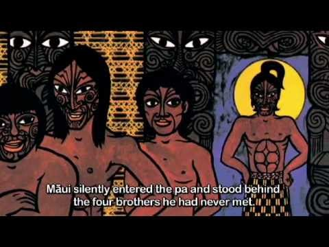 How Maui found his Mother - By Peter Gossage