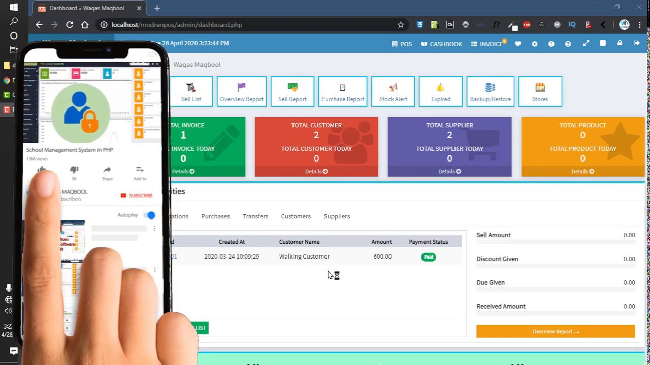 User Management in Modern Point of Sale POS
