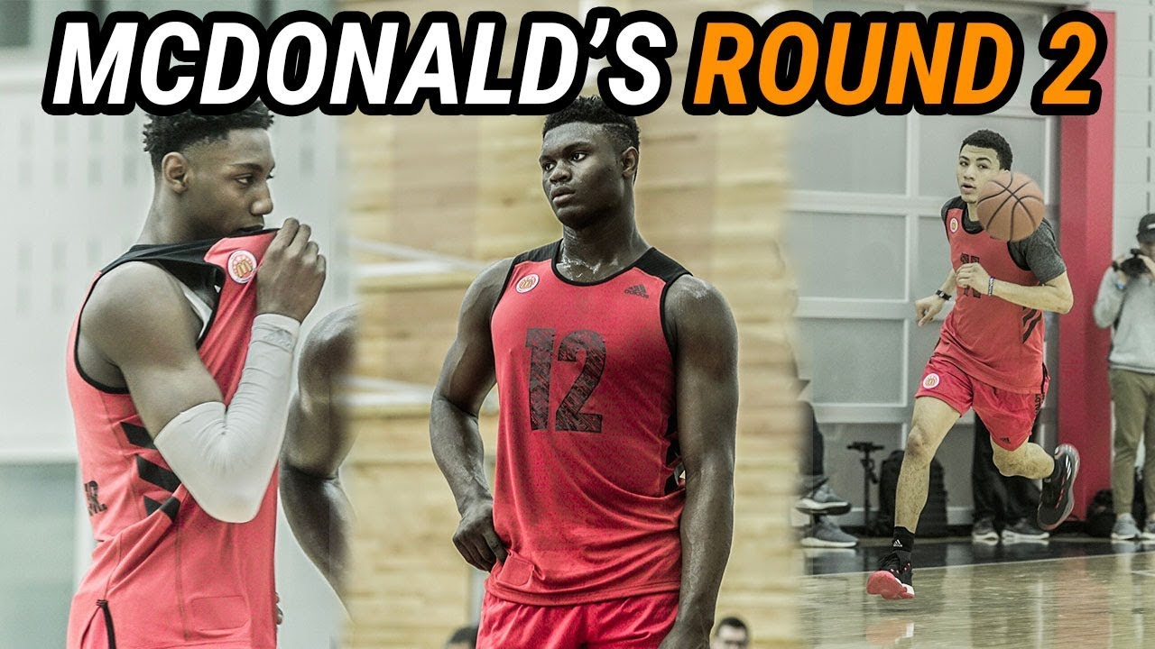 Zion Williamson Has COMPETITION At McDonald s! Practice  2 FULL HIGHLIGHTS  👀 b5bab6929