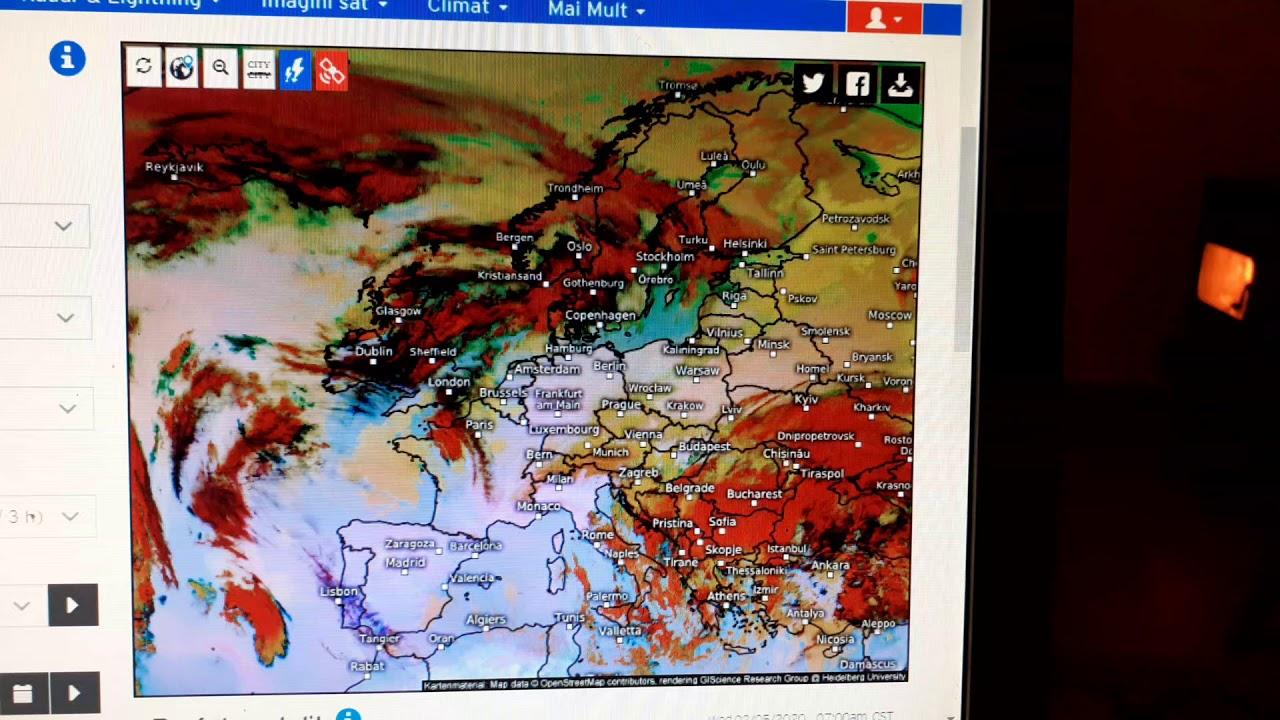 Imagini Din Satelit Europa 05 02 2020 Youtube