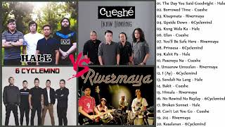 Hale, Cueshe, Rivermaya, 6Cyclemind Nonstop : OPM Tagalog Love Songs pLAylIst 2019