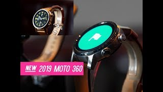 Moto 360 - The New 2019 Moto 360 Smartwatch First Look & Hands On