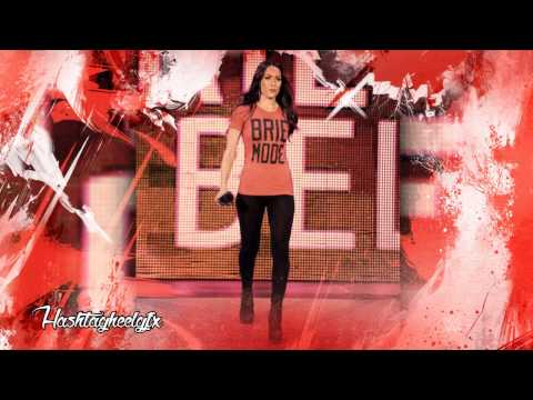 2014: Brie Bella 4th & New WWE Theme Song...