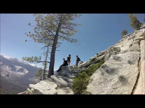 HALF DOME SUMMIT- Yosemite National Park - July 1, 2017