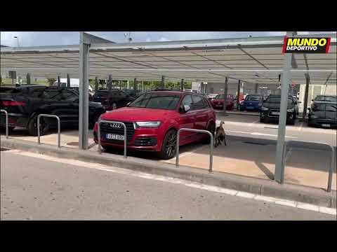 Amenaza de bomba a los autos de Lionel Messi y Luis Suárez
