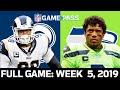 Rams vs. Seahawks Week 5, 2019 FULL Game