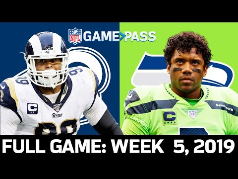 Rams vs. Seahawks Week 5, 2019 FULL Game