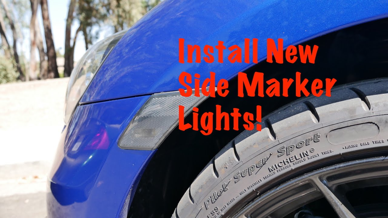 How To Install Side Marker Lights Subaru Brz Youtube
