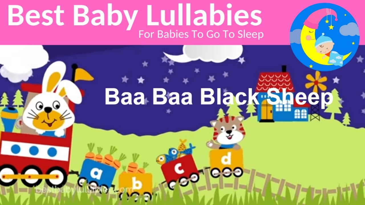Lullaby Lullabies for Babies To Go To Sleep-Baby Lullaby Songs Go To Sleep Music Baa Baa Black Sheep
