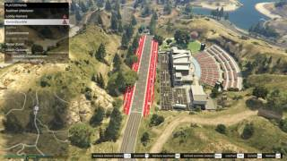 gta pc tutorial starting grid on roadway with gradient