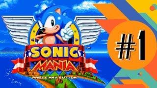 Прохождение Sonic Mania – часть 1