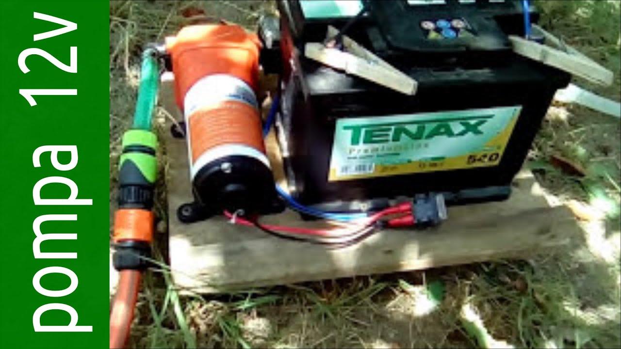 Pompa 12 v autoclave per irrigazione giardino e altri for Pompe per laghetti da giardino