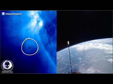 What S Nasa Hiding Mystery Ufos Above Earth Our Sun