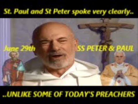 """St. Paul and St Peter spoke very clearly....UNLIKE SOME OF TODAY'S PREACHERS !!"""