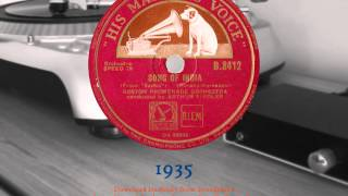 The Boston Promenade Orchestra - Song of India from Sadko (1935) 78RPM HQ