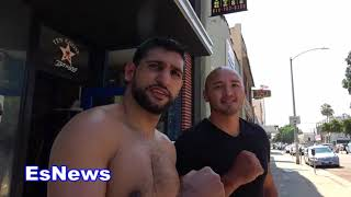 Amir Khan Has Lots Of Fans In Mexico EsNews Boxing