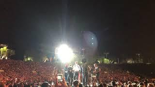 "Coldplay - ""Free Fallin'"" HD (Tom Petty tribute w/ James Corden) - Rose Bowl, Los Angeles 10/6/17"