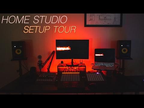 Home Studio Setup Tour 2017
