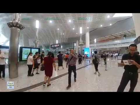 📱Hong Kong Life Live - West Kowloon Highspeed Train Terminus (2018-9-26)