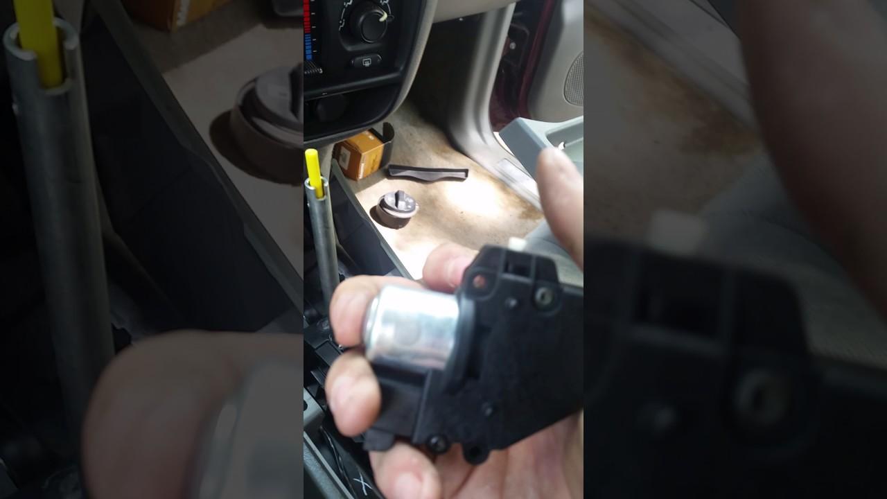 hight resolution of 2005 chevy trailblazer ignition locked simple fix