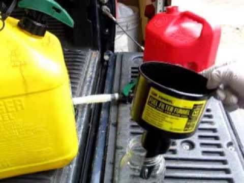 field test mr funnel fuel filter youtube Racor Fuel Filter Install