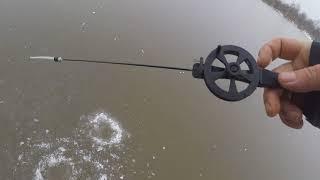 Сезон открыт!!! Рыбалка по первому льду.