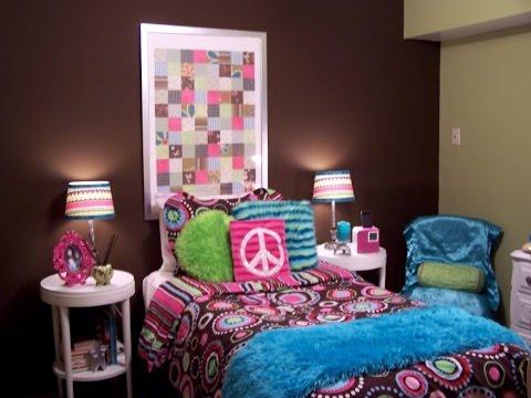 Amazing Teenage Girl Bedroom Ideas For Small Rooms - YouTube on Small Room Ideas For Girls  id=64323