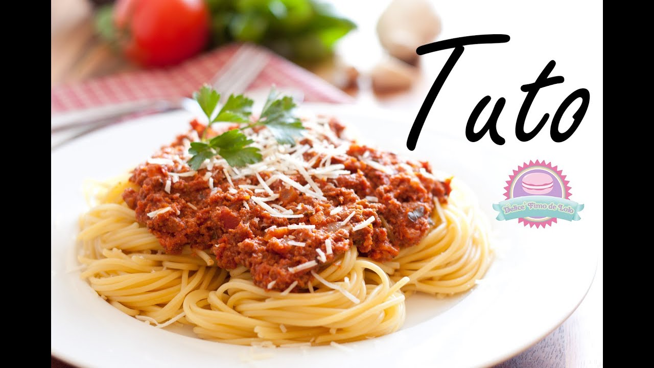 Tuto fimo spaghetti