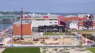 Timelapse nouveau campus Le Havre EM Normandie