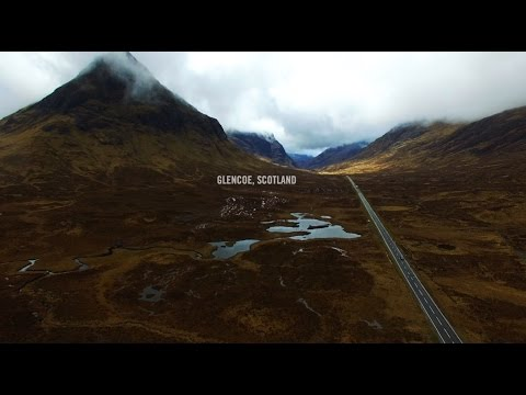 SKYFALL \\ GLENCOE DRONE FILM