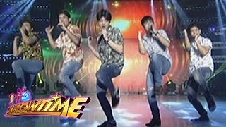 Its Showtime: Gimme 5 performs their newest single Walang Dahilan YouTube Videos