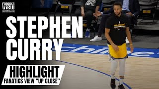 "Stephen Curry INSANE Court Workout, Splashes 3-Pointers Like Layups | Fanatics View ""Up Close"""