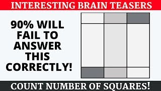 INTERESTING #BRAINTEASERS TO CHALLENGE YOUR BRAIN