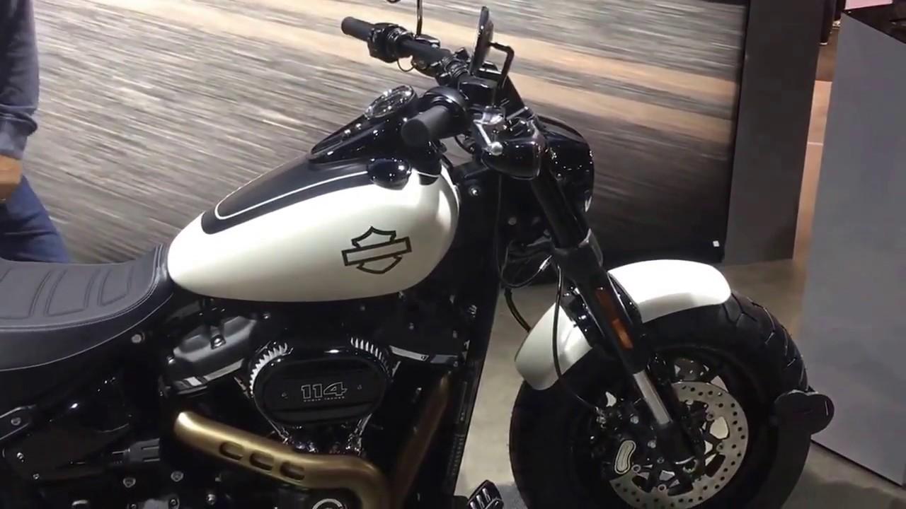 New 2018 Harley Davidson Fat Bob new. Milwaukee 8 motor ...