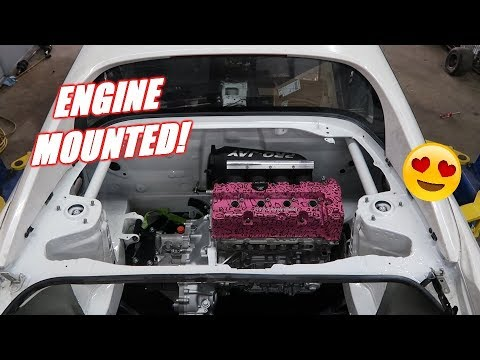 The Mr2 Has An Engine Again!
