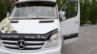 Прокат Mercedes Benz Sprinter 515 extra long в Харькове на свадьбу или торжество