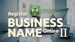 How to Register Business Name in Nigeria | Full Tutorial