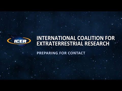 Willkommen bei ICER, der Internationalen Koalition für Extraterrestrische Forschung