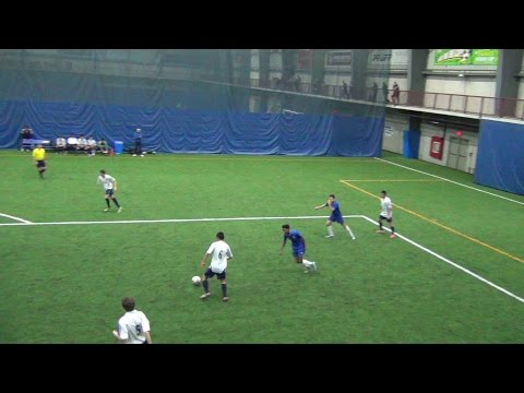 Ontario Indoor Cup 2016 U18 Boys: Ottawa Capital United vs North York Franco Foot