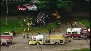 Flight for Life called to scene of Greendale dump truck rollover
