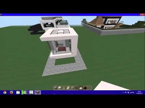 tuto construire une maison minecraft 5x5 youtube. Black Bedroom Furniture Sets. Home Design Ideas