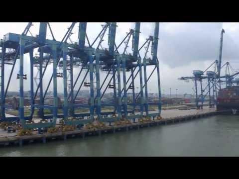 #16 Arriving Port Kelang, Malaysia