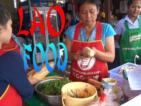 LAOS, VIENTIANE, LAOS FOOD, STREET FOOD IN LAOS, 2016, VIENTIANE MARKET, ASIAN FOOD